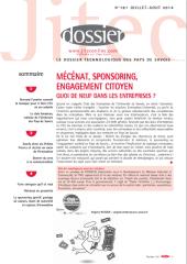 Dossier JITEC N°181 JUILLET – AOUT 2014