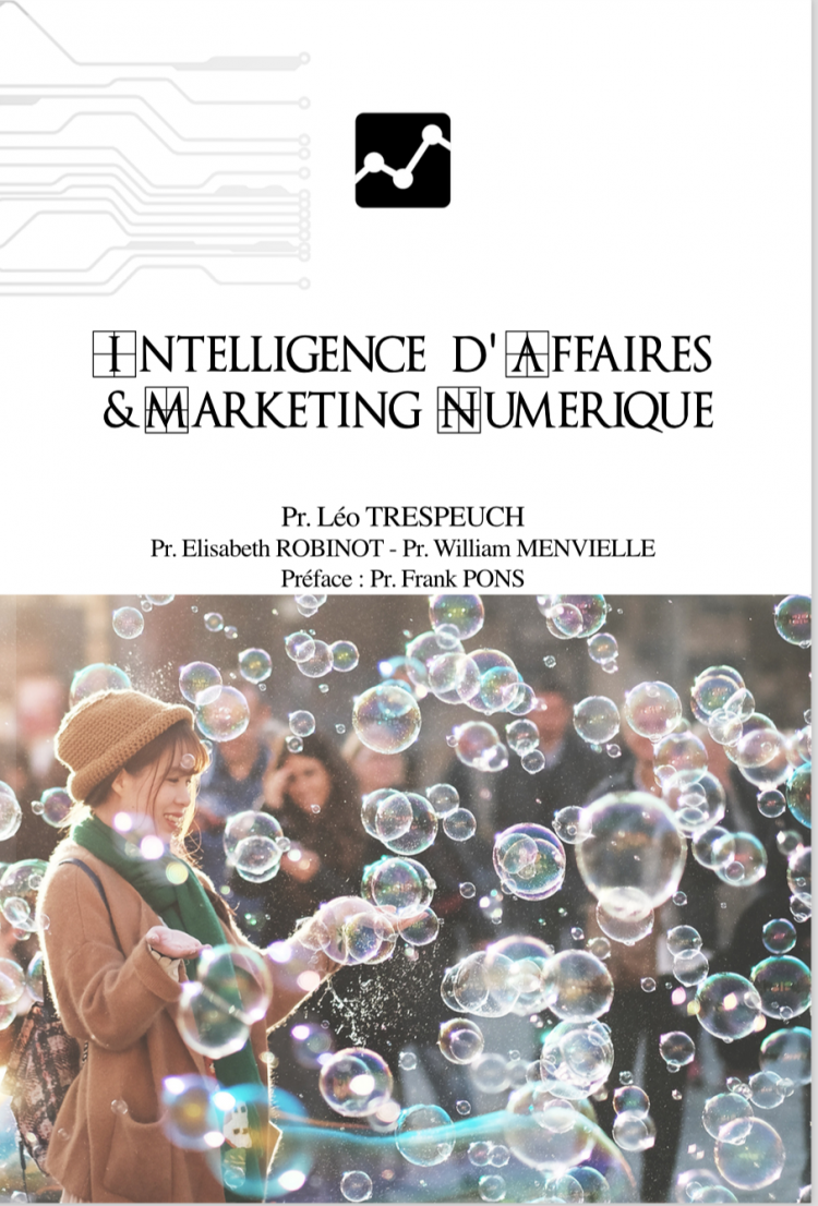 Intelligence d'affaires et marketing numérique par Léo Trespeuch, Elisabeth Robinot et William Menvielle